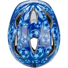 ABUS Anuky Casco Niños, blue soccer
